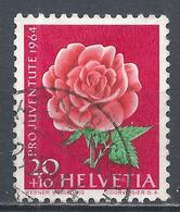 Switzerland 1964. Scott #B341 (U) Flower, Rose * - Pro Juventute