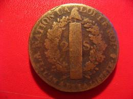 France - 2 Sols 1792 A Paris Louis XVI 7123 - 1789-1795 Period: Revolution