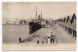 Tunisie-- SFAX --Quai Des Phosphates Et Le Port (bateau,petite Animation) - Tunesië