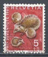 Switzerland 1965. Scott #B350 (U) Animal, Hedgehogs * - Pro Juventute