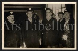 Photo Postcard / ROYALTY / België / Belgique / Prince Baudouin / Prins Boudewijn / Steenkoolmijn Van Beringen / 1950 - Beringen