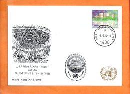 NATIONS-UNIES, Vienne, Carte Postale Souvenir Expo Numiphil'94 - Centre International De Vienne