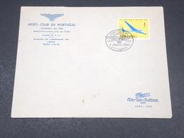 PORTUGAL - Oblitération Et Enveloppe De L 'Aéro Club De Lisbonne En 1960 - L 18990 - 1910-... Republic