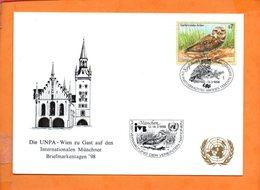 NATIONS-UNIES, Vienne, Carte Postale Souvenir Expo Munich 98 - Centre International De Vienne