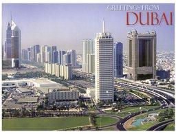 (31) UAE - Dubai City (with Stamps) - United Arab Emirates