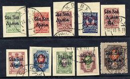1919 North-West Army Set To 1 R. Used.  Michel 1-10 - North-West Army