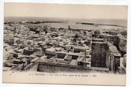 Tunisie-- SOUSSE -- Vue Vers Le Port Prise De La Casbah - Tunesië