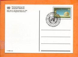 NATIONS-UNIES, Vienne, Carte Postale Entier - Centre International De Vienne