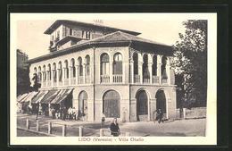 Cartolina Lido Di Venezia, Villa Otello - Venezia (Venice)