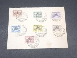 VATICAN - Série De 7 Valeurs Avec Surcharge Sede Vacante Sur Support En 1939 - L 18993 - Lettres & Documents