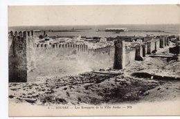 Tunisie-- SOUSSE -- Les Remparts De La Ville Arabe - Tunesië