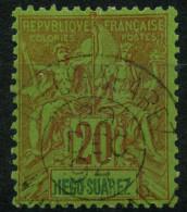 Diégo-Suarez (1893) N 44 (o) - Diego-suarez (1890-1898)