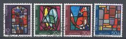 Switzerland 1971. Scott #B398-B401 (U) Contemporary Stained Glass Window * Complet Set - Pro Patria