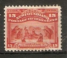 NEWFOUNDLAND 1897 15c SG 75 FINE USED Cat £25 - Newfoundland
