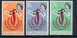 1968 - ASCENSIONE - Mi. Nr. 115/117 - NH - (CW4755.1) - Ascensione