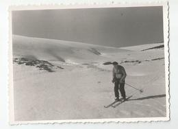 Photographie Pierre Haute Auvergne Fév.1939 Ski Photo 8,5x11,7 Cm - Plaatsen