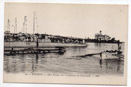 Tunisie-- BIZERTE - Baie Ponty, Les Torpilleurs Et L'Amirauté (bateau) - Tunesië