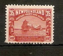 NEWFOUNDLAND 1897 35c SG 78 MOUNTED MINT Cat £70 - Newfoundland
