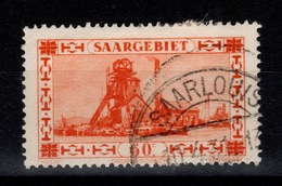 Sarre - YV 140 Oblitere - 1920-35 League Of Nations