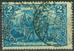 Nr. 95 B II 2 Mark Germania Gestempelt - Deutschland