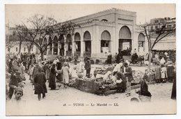 Tunisie-- TUNIS - Le Marché (  Très Animée ) - Tunesië
