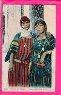Cpa  Carte Postale Ancienne -femmes Tunisienes - Tunisia