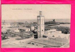 Cpa  Carte Postale Ancienne - Casablanca Une Mosquee - Casablanca