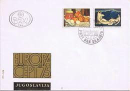 Busta Europa CEPT 1975 - 1945-1992 Repubblica Socialista Federale Di Jugoslavia