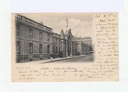 Carte Postale De Paris, Palais De LElysée . Timbrée Avec Mouchon 10c. Type I. (526) - Marcophilie (Lettres)