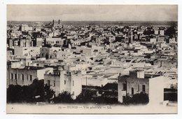 Tunisie-- TUNIS - Vue Générale - Tunesië