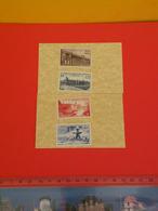 Lot 4 Timbres Neuf 1947 > Série N°780 à 783 = 4 Val >Y&T < Union Postale Universelle à Paris - Coté 4€ - France
