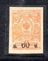 650 490 - ARMENIA 1919 , 60 K Su Un K. Giallo  Nuovo * - Armenia