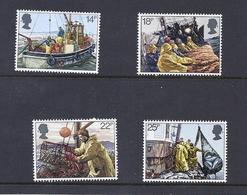 180030003  G.B.  YVERT  Nº  1007/1010  **/MNH - 1952-.... (Elizabeth II)