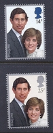 180030007  G.B.  YVERT  Nº  1001/2  **/MNH - 1952-.... (Elizabeth II)