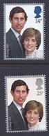 180030008  G.B.  YVERT  Nº  1001/2  **/MNH - 1952-.... (Elizabeth II)