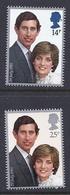 180030009  G.B.  YVERT  Nº  1001/2  **/MNH - 1952-.... (Elizabeth II)