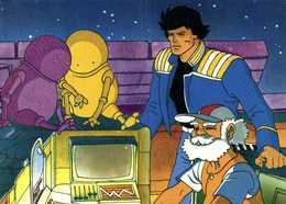 LES MAITRES DU TEMPS  1982 Moebius Telecip RV - Bandes Dessinées