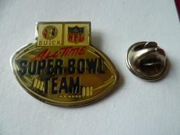 PIN'S  FOOTBALL  AMERICAIN    SUPER  BOWL - Badges