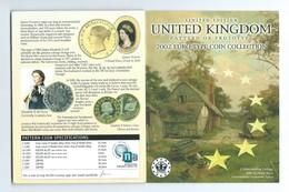 Royaume-Uni SERIE EURO  ESSAI 2002 - EURO