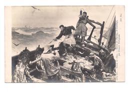 COPIE DE TABLEAU   Salon De 1895 - Saison Du Hareng Le Cueillage - ND Paris 16896 - Paintings