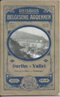 Reisgids - Guide  - Cosyn's - Maurice Cosyn - Ourthe -Vallei - Woud Van St Hubert - Wandelwegen - Antique