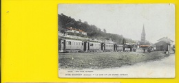 BAURECH Colorisée La Gare Et Les Grands Coteaux (Guillier) Gironde (33) - Autres Communes