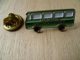 PIN'S LES CARS DE CHATEAU THIERRY  BUS  AUTOCAR - Transportation