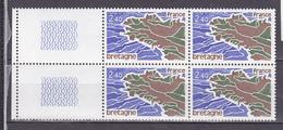 N° 1917 Régions: Bretagne: Un Bloc De 4 Timbres Neuf Sans Charnière - Unused Stamps