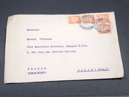 PORTUGAL - Enveloppe De Lisbonne Pour Paris En 1934 - L 19006 - 1910-... République
