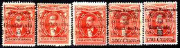 Guatemala-0029 - Emissione 1886 (+/sg) Hinged/NG - - Guatemala