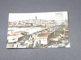GRECE - Affranchissement De Salonique Sur Carte Postale De Constantinople En 1916 - L 19008 - Grecia