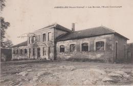 Haute  Vienne : JABREILLES  : Les  Bordes ,  école  Communale - France