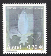 Aland 2007 Europa: Scouts Mi 281 MNH(**) - Aland