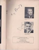 WOZZECK, ALBAN BERG-AUTOGRAPHS ERICH LEINSDORF, GEORG REINHARDT, VALDO SCIAMMARELLA, WALTER BERRU-BLEUP - Autographes